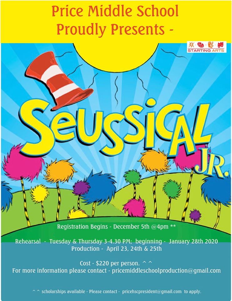 Seussical Flyer