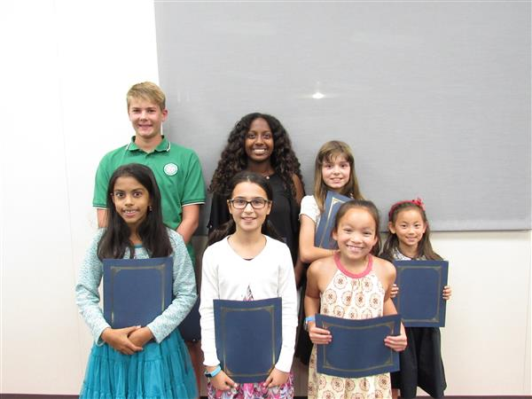 Cambrian Celebrates 2017-18's First Students of the Month
