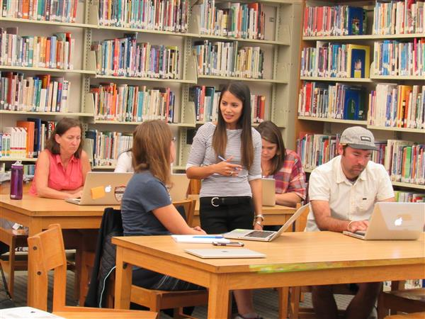 Teachers Hit the Books for District In-Service Day