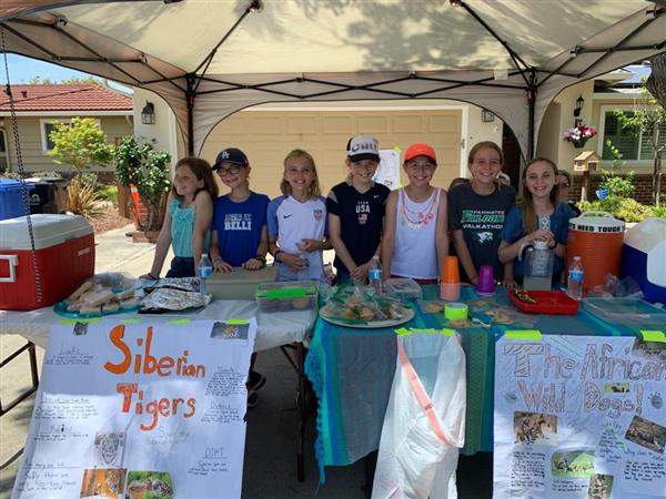Fammatre Kids Help Endangered Species
