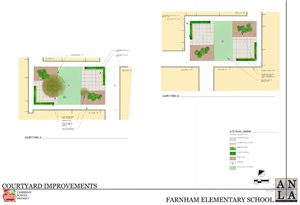 proposed courtyard improvements